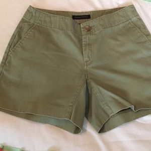 Banana Republic Olive Green Shorts